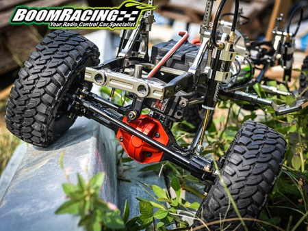 Boom Racing Convertible Front/Rear Axle For SCX10