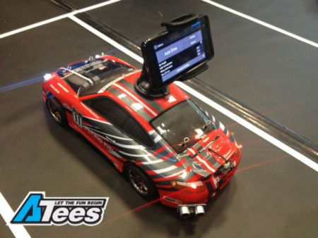 Self-Driving RC Car Powered by a Phone