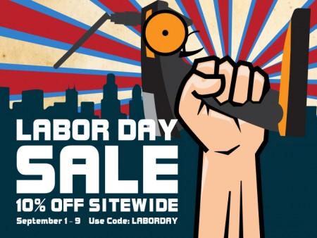 10% Off Site-Wide Labor Day Sale