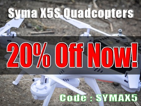 20% Off All Syma Quads at ATees
