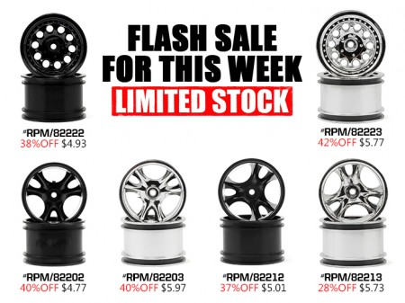 Clawz & Revolver Wheels from RPM On Sale