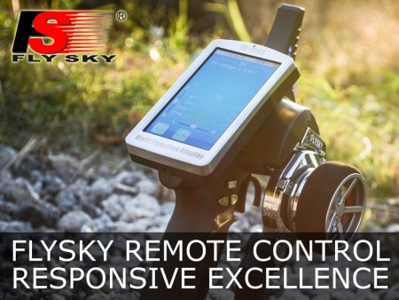 FlySky Remote Control--Responsive Excellence