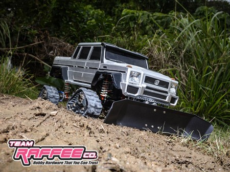 Team Raffee Co Aluminum Front Snow Plow For SCX10 Arrived!