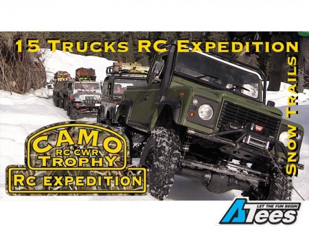[VIDEO] RC CWR Camo Trophy - Snow RC Expedition