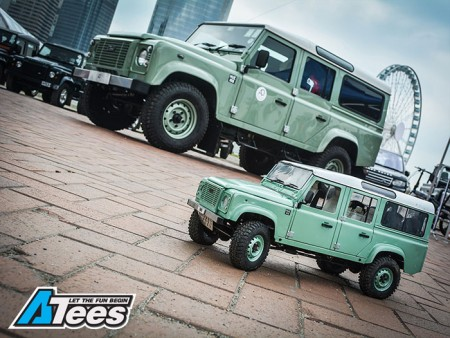 ATees D90 & D110 Defender At The Land Rover Car Show