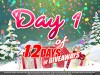 Day 1 of 12 Days of Giveaways