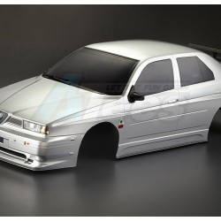 '' 'All' 'Alfa Romeo 155 GTA Finished Body Silver (Printed) Light buckets assembled'