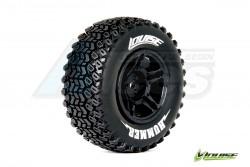 '' 'Slash' 'Louise 1/10 SC-HUMMER Performance Short Cource Tire Soft / Black Rim / Mounted'