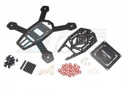'' 'All' 'Diatone ET150 V1.0 Carbon Fiber FPV Racer Quad Drone Frame Kit w/BEC Power Distribution Board'