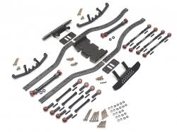 '' 'SCX10' 'Kronik™ SWB Short Wheelbase Chassis Conversion Kit Black'