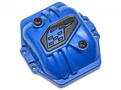 '' 'RR10 Bomber' 'Heavy Duty Steel AR60 PHAT™ Axle Diff Pumpkin Cover Blue'