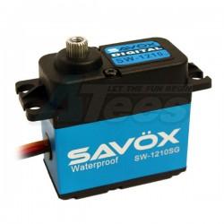 '' 'All' 'Savox SW-1210SG Waterproof Aluminum Case Coreless Digital Steel Gear Servo .15/277.7'