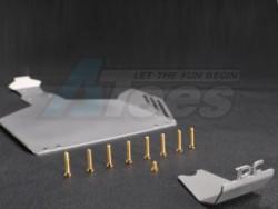 '' 'Yeti' 'Chassis Protector for Yeti Matt Silver'