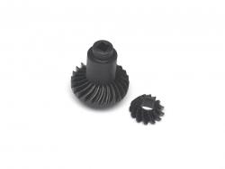 '' 'K5 Blazer Ascender' 'Heavy Duty Bevel Helical Gear Set - 24T/13T Black'