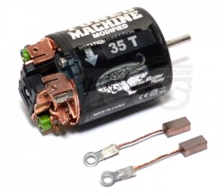 '' 'All' 'Tuned Machine Modified 540 Brushed  Motor 35T w/ 1 Pair Brush'