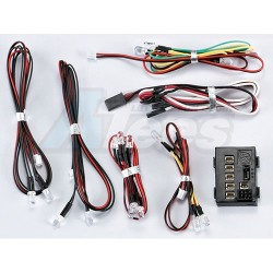 '' 'All' 'Led Light System W/Control Box (18 Leds)'